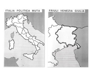Litalia E Le Regioni Italiane Cartine Mute Tiflopedia