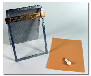 Tavoletta in metallo per la scrittura Braille