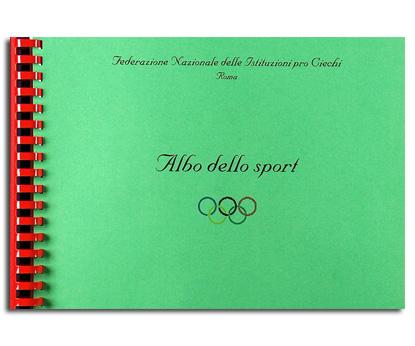 Copertina Albo dello Sport