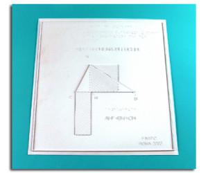 Tavole dimostrative del I e II Teorema di Euclide