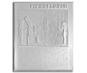 Età del bronzo. Arte dell'antico Egitto: riproduzione in rilievo di un'immagine su papiro