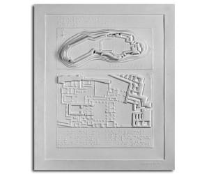 Età del bronzo. Fortezza di Tirinto: planimetria e pianta