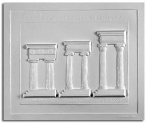 Architettura Greca. Evoluzione e proporzioni degli ordini: Dorico, Ionico, Corinzio