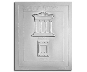 Architettura Greca. Tempietto di Atena Nike (V sec. a.C.): pianta e prospetto