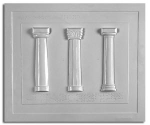 Architettura Etrusca. Tipi di colonna