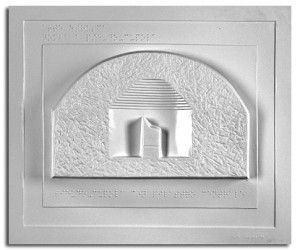 Architettura Etrusca. Tomba a pseudocupola: sezione