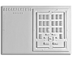 Architettura Romana. Accampamento romano: pianta