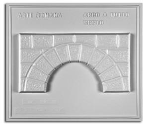 Architettura Romana. Arco a tutto sesto: prospetto