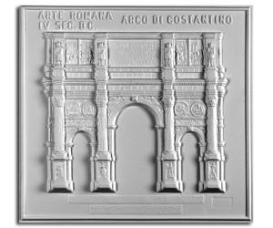 Architettura Romana. Arco di Costantino (IV sec. d.C.): prospetto