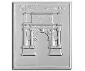 Architettura Romana. Arco di Tito (I sec. d.C.): prospetto