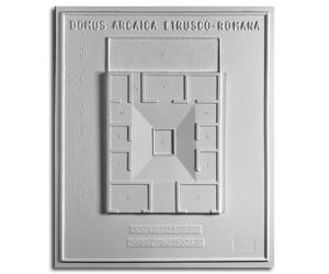 Architettura Romana. Domus arcaica etrusco-romana: pianta