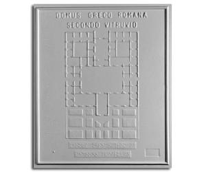 Architettura Romana. Domus greco-romana secondo Vitruvio: pianta