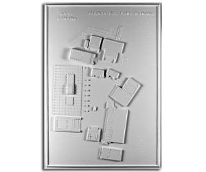 Architettura Romana. Foro romano (Roma): planimetria
