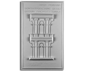 Architettura Romana. Sovrapposizione degli ordini architettonici: prospetto di sezione