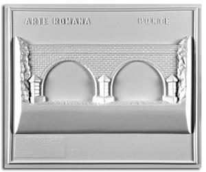 Architettura Romana. Tipo di ponte: prospetto