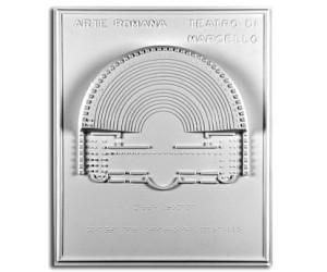 Architettura Romana. Teatro di Marcello (I sec. a.C.) - Roma: pianta