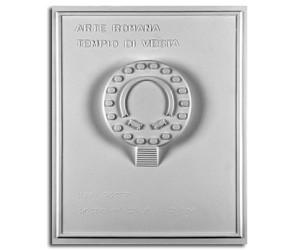 Architettura Romana. Tempio di Vesta (Roma): pianta