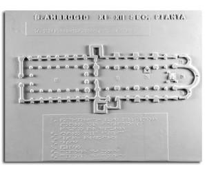 Architettura Romanica. Sant'Ambrogio (XI-XII sec.) (Milano):  pianta