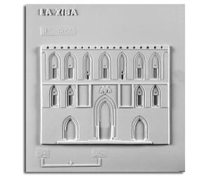 """Architettura del '200. La """"Zisa"""" (Palermo): prospetto"""