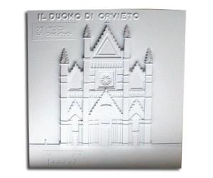 Architettura del '300. Duomo di Orvieto: prospetto