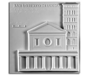 Architettura del '100. San Lorenzo in Lucina (Roma): prospetto
