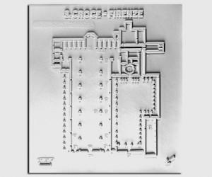 Architettura del '300. Santa Croce (Firenze): pianta