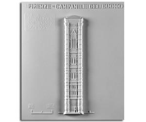 Architettura del '300. Campanile del Duomo (Firenze): prospetto