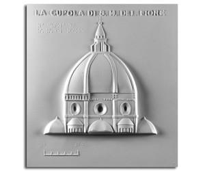 Architettura del '300. Santa Maria del Fiore (Firenze): prospetto della cupola