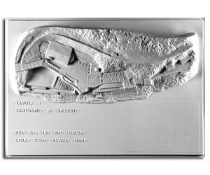 Architettura del '200. Santuario di Greccio (Rieti): planimetria