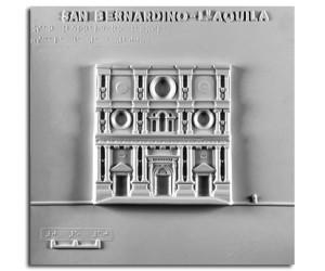 Architettura del '400. San Bernardino (L'Aquila): prospetto