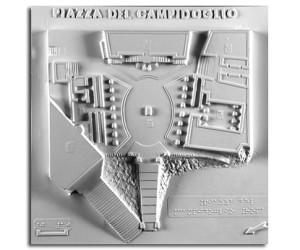 Architettura del '500. Piazza del Campidoglio: planimetria