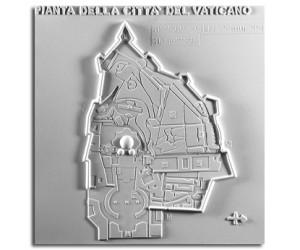 Città del Vaticano: planimetria
