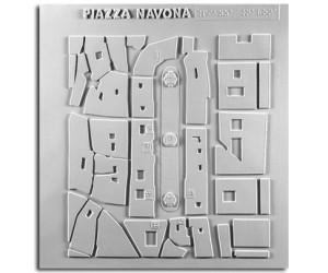 Architettura del '600. Piazza Navona (Roma): planimetria