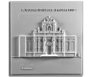 Architettura del '600. Duomo di Lecce: prospetto