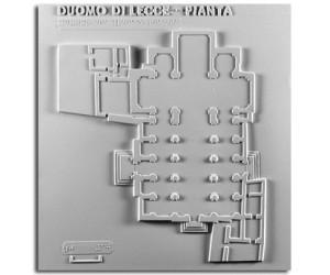 Architettura del '600. Duomo di Lecce: pianta