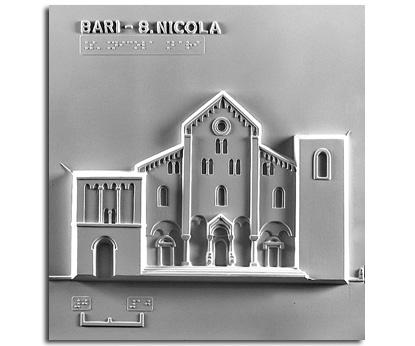 Architettura del '100. San Nicola (Bari): prospetto