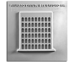 Architettura del '900. Palazzo della civiltà del lavoro (Roma): prospetto