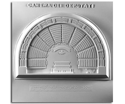 Architettura del '900. Camera dei Deputati (Roma): pianta