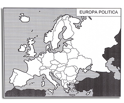 Europa Del Nord Cartina Muta.L Europa E Gli Stati Europei Cartine Mute Tiflopedia
