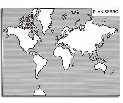 Cartina Muta Italia Per Verifica.Il Planisfero E I Continenti Cartine Mute Tiflopedia
