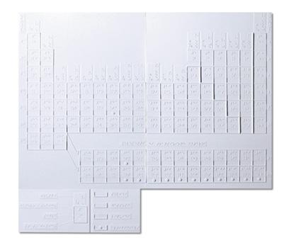 Tavola periodica degli elementi tiflopedia - Tavola periodica per bambini ...