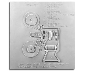 Schema della macchina da proiezione cinematografica