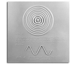 Rappresentazione della propagazione del suono e rappresentazione grafica dell'onda sonora